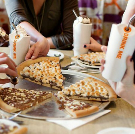 Chocolate Chunks Pizza Max Brenner Chocolate Chunks Pizza