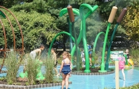 New Sprayground at Van Saun Park Opens