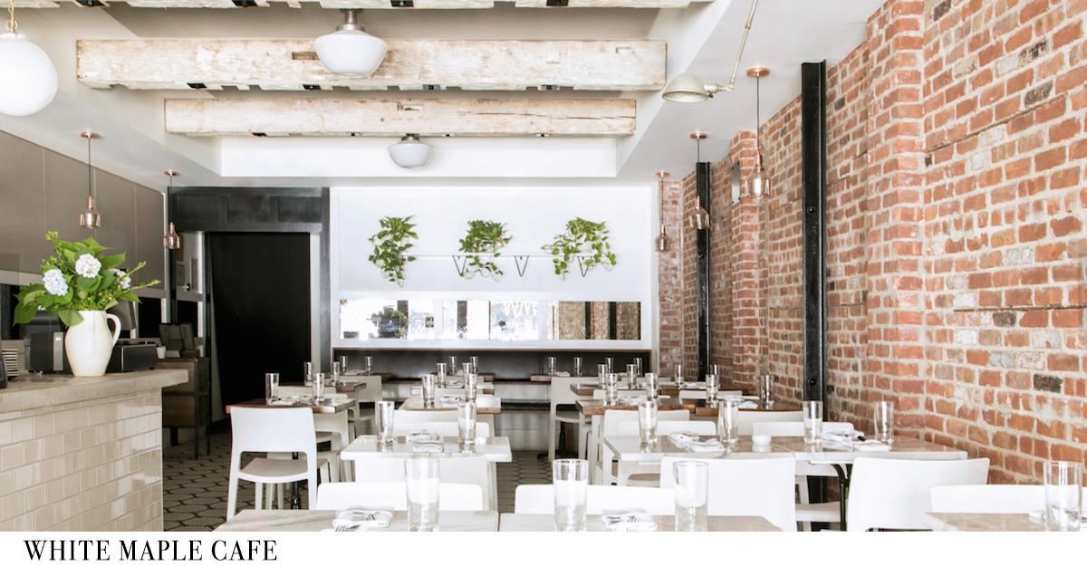 White Maple Cafe Brunch Menu