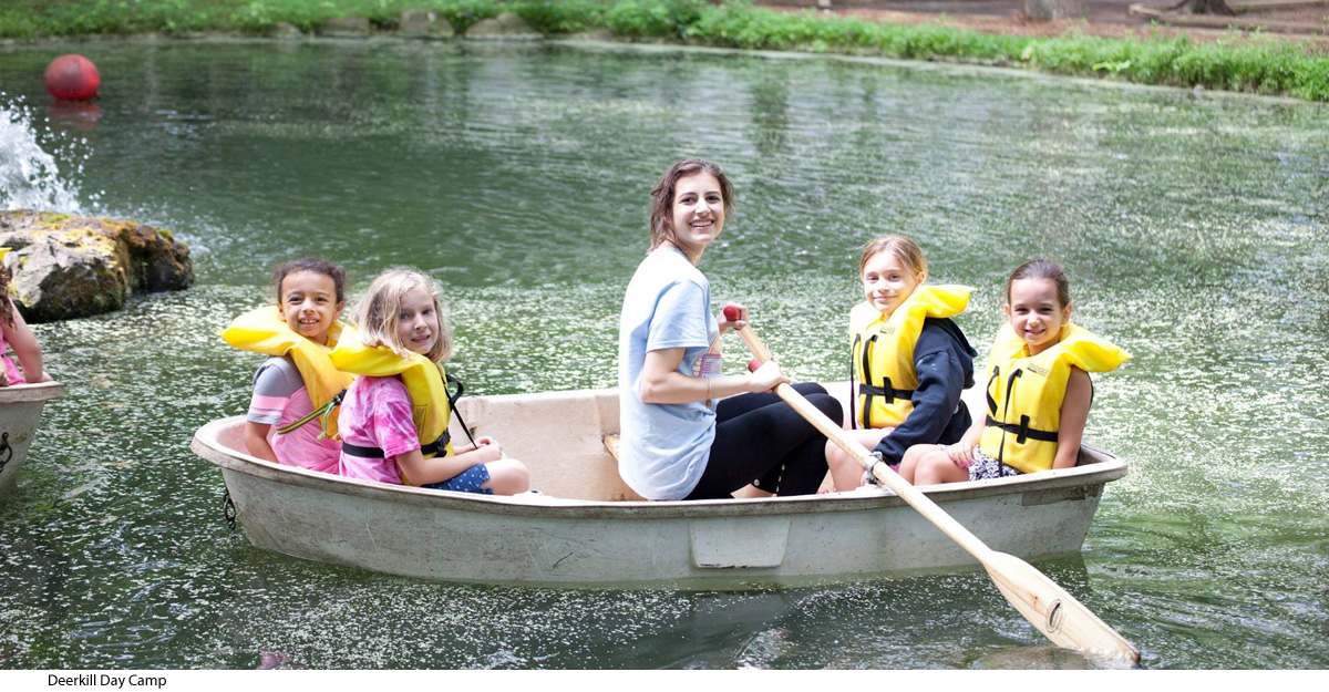 Summer camps near bergen county nj with lakes bergen for Spring warrior fish camp