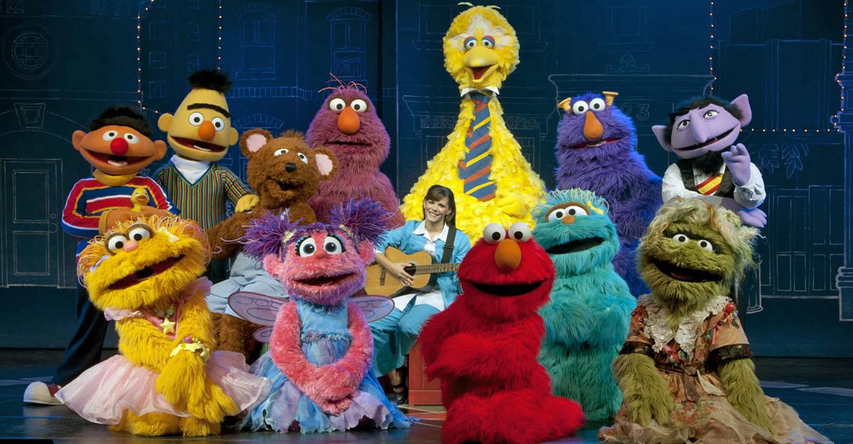 Sesame Street Live Comes To Njpac Dedicated Bergen