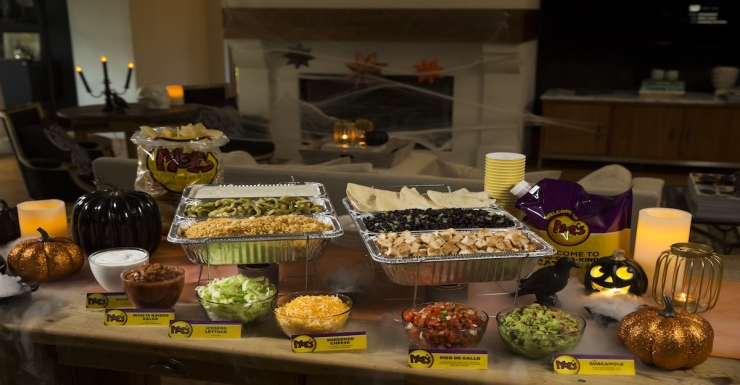 Halloween Party Catering Offer from Moe's southwest grill