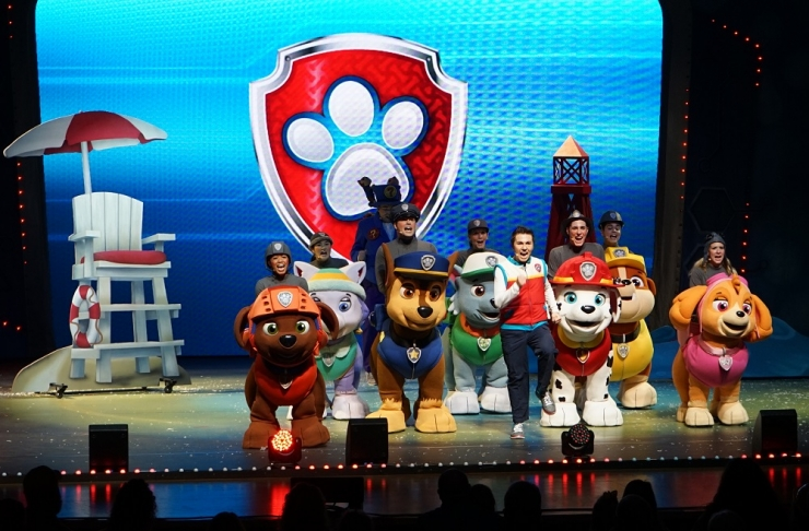 Giveaway Win Tickets To Paw Patrol Live At Madison