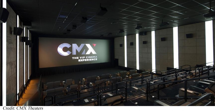 Image result for Mall of America Announces the Grand Opening of the CMX Cinema