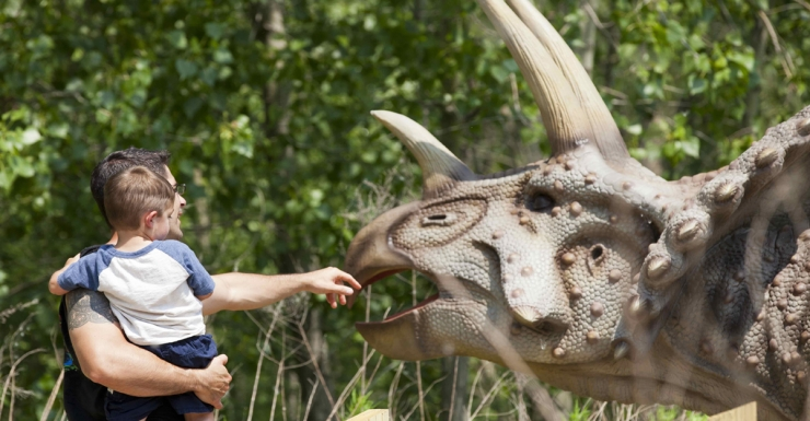 Go Prehistoric at Field Station Dinosaurs in Overpeck Park