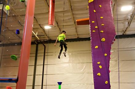 High Exposure Climbing In Northvale Bergen County Nj
