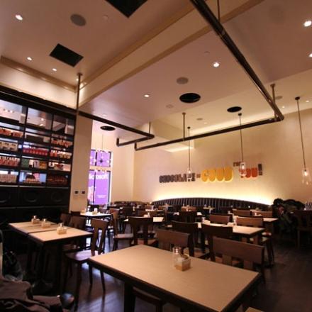 Max brenner chocolate bar garden state plaza bergen - Restaurants near garden state plaza ...