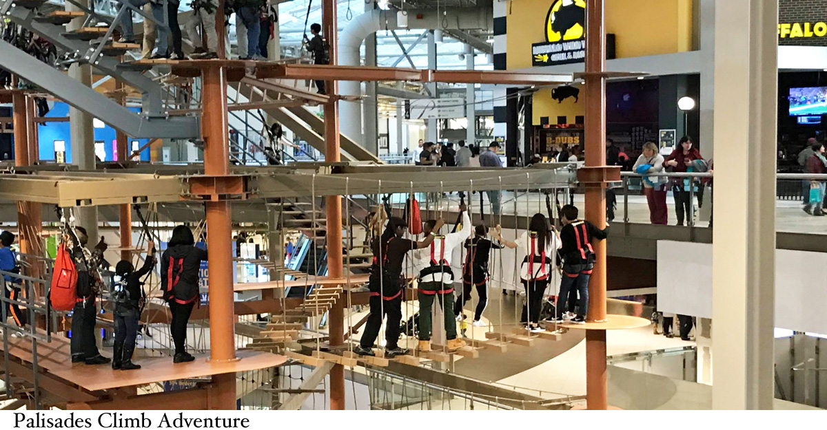 why palisades center is the perfect escape from the summer