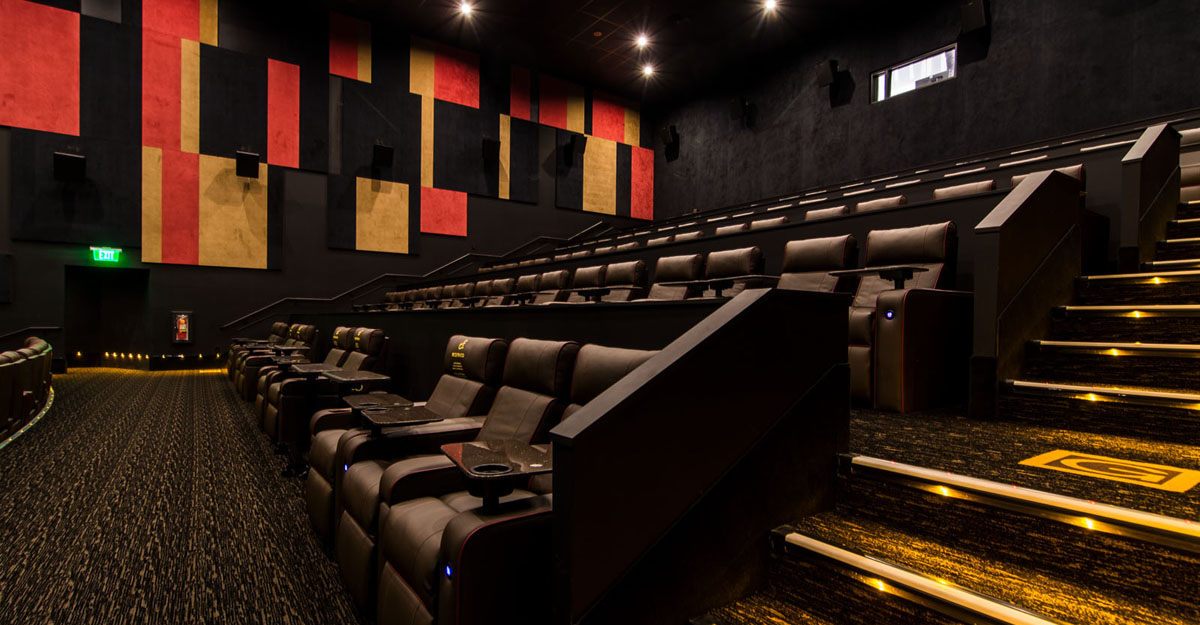 The shops at riverside just got an amazing new dine in New jersey dine in theatre