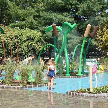 Van Saun Park S Sprayground Bergen County Bergen