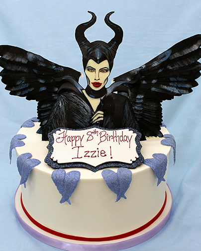 Sweet Sisters Maleficent Cake
