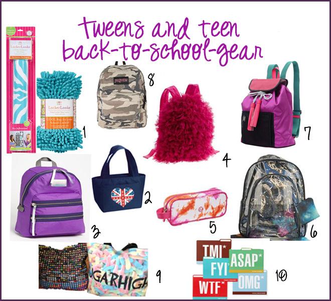 Back to School Gear Guide: Tweens and Teens